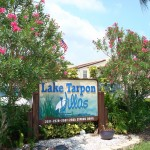 Entrance Lake Tarpon Villas